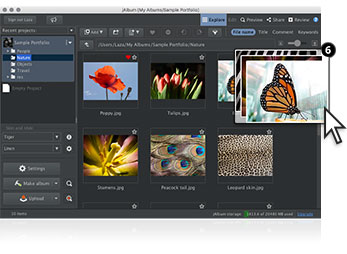 Photo Gallery Website Software