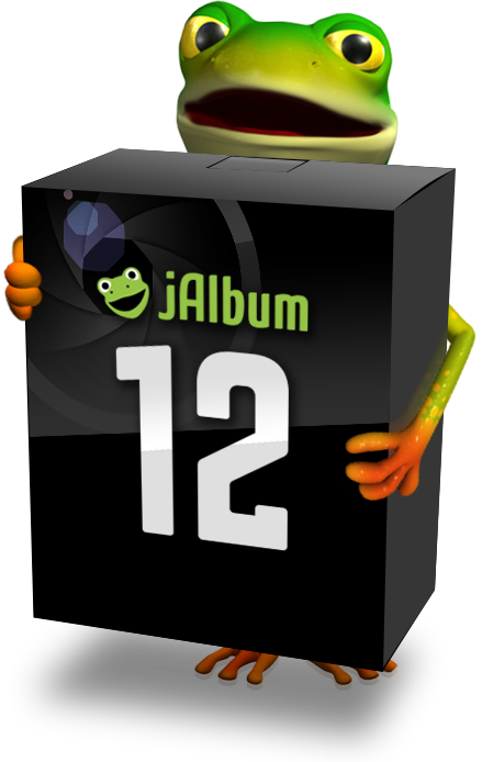 jAlbum 12's new User Interface