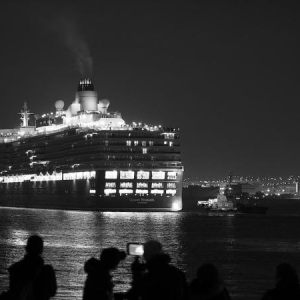 Queen Elizabeth at Yokohama