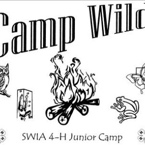 2016 Regs 12, 17, !8 Jr. 4-H Camp Wild Pics