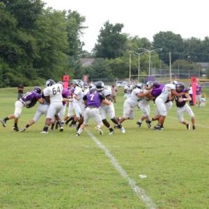 West Catholic v. Cherry Hill West (scrimmage) 8.25.12