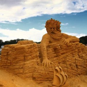 Sculptures in Sand