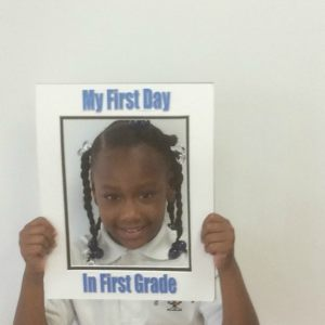 1st Grade First Day of School 2016