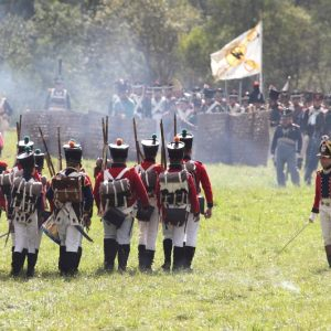 Reconstruction of the great battle of Borodino