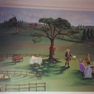 Patti Rosner Murals: Various Rooms