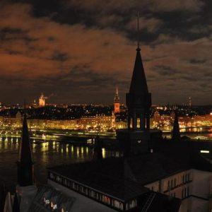 Stockholm by night