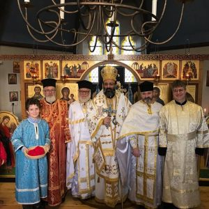 Metropolitan Silouan Ordains Fr Deacon Alban to the Priesthood