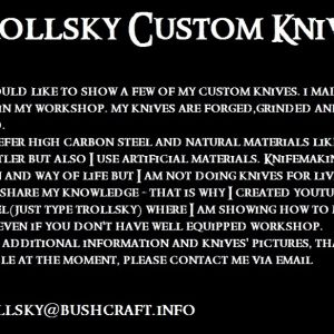 Trollsky Custom Knives
