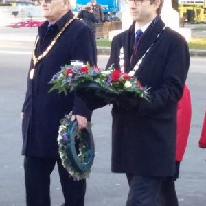 2017 Wreath laying  George Square