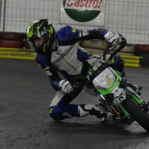 Pitbike Indoor Training, Montag, 21. Januar 2019