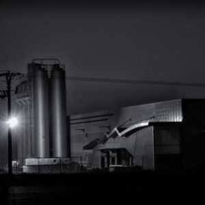 Early morning - factories