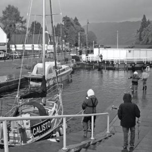 Fort Augustus Grayscale