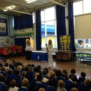 Olympic Torch Visits All Saints