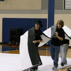 Winterguard Perfomance at Sachse